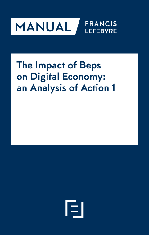 Manual The Impact of Beps on Digital Economy: an Analysis of Action 1