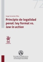 Principio de legalidad penal: ley formal vs. law in action